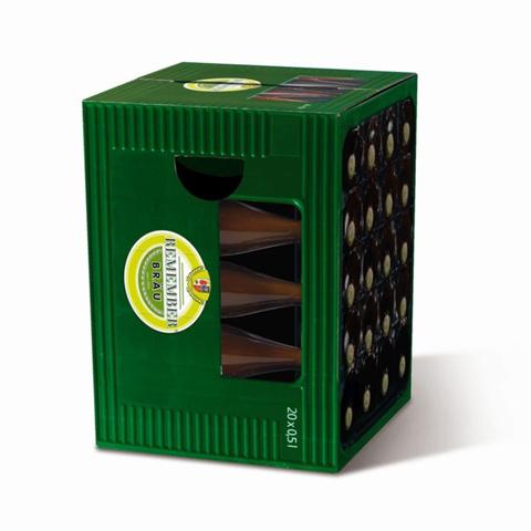 Табурет картонный сборный Master brewer