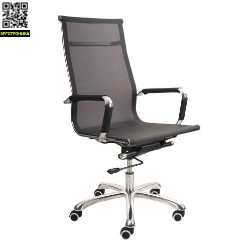 Эргономичное офисное кресло NordЭргономичные кресла<br>Лаконичный дизайн в лучших европейских традициях. Прочная хромированная рама. Спинка и сиденье кресла выполнены из сетчатого дышащего материала. Гарантия 1 год.<br>