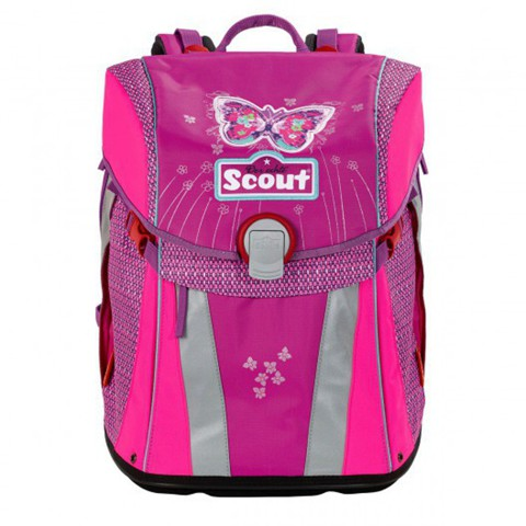 Ранец Scout Sunny BASIC с наполнением 4 предмета (7вариантов)