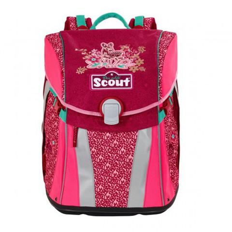 Ранец Scout Sunny BASIC с наполнением 4 предмета - Чудесный  лес