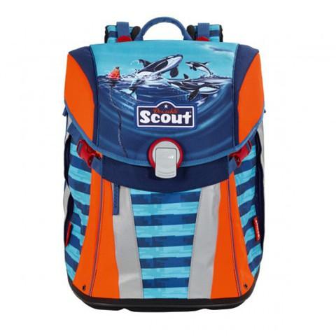 Ранец Scout Sunny BASIC с наполнением 4 предмета (12вариантов)