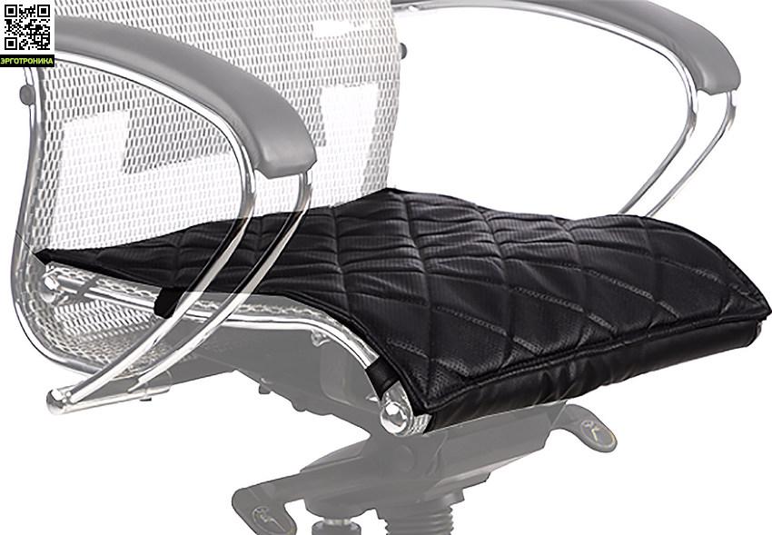 Кожаный перфорированный чехол для кресла SamuraiЧехлы для кресел<br>Дополнительное удобство при многочасовой работе.<br>Натуральная кожа<br>