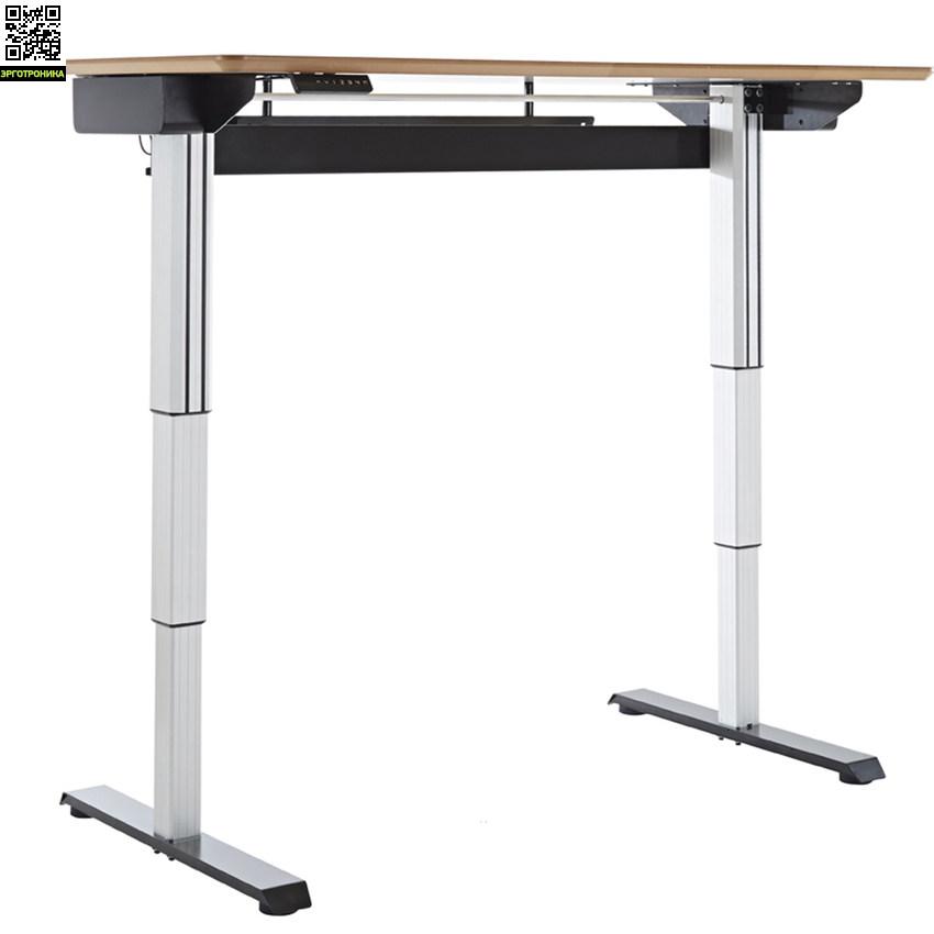 Электрический стол-трансформер E-DESK DWSСтолы<br>Стол с электроприводом для работы стоя и сидя <br>Столешница регулируется нажатием кнопки от 72 до 120 см.<br>Цифровой дисплей и 4 варианта предварительной настройки<br>Грузоподъемность до 160 кг<br>Экологичные материалы<br>Гарантия 5 лет<br>