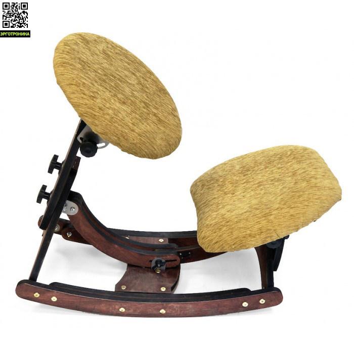 Авторский динамический стул SmartstoolКоленные стулья<br>Уникальный коленный стул сочетает в себе пользу коленного и динамического стула<br>Ручная работа<br>