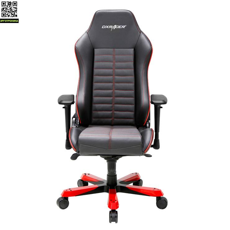 Кресло натуральная кожа DXRacer Iron серии, Model IS188/NR
