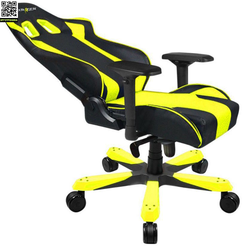 Игровое кресло Dxracer King Series Model Ks06 Чёрный