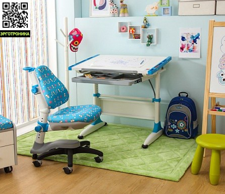 Парта Kids Master K1-DURER Desk с выдвижной полкой