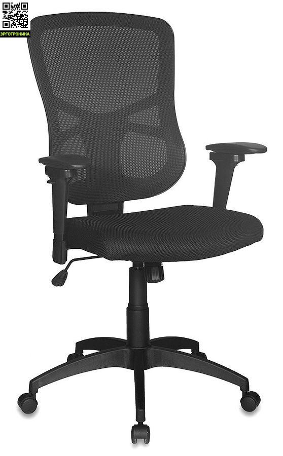 Эргономичное офисное кресло GiroЭргономичные кресла<br>материалы сетка/ткань;<br>отдельная регулировка высоты спинки/поясничного упора;<br>