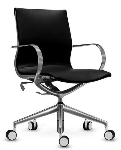 Кожаное кресло Mercury LB с дышащей сеткой