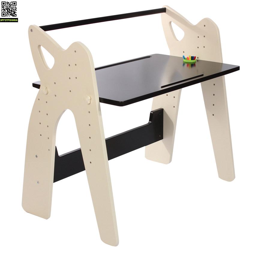 Стол-трансформер Эволайф ЭКОДетские парты<br>Стол подходит для детей ростом от 100 до 175 см.<br>Столешница имеет два угла наклона 15° и 80°<br>Размер столешницы: 100х60 см.<br>Цвет: Бежевый/Венге<br>