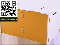 Ящик для игрушек EVOLIFE-BOXДетская мебель: тумбы, стеллажи, приставки<br>Безопасная конструкция, легко собирается и разбирается.<br>Хорошая вместимость.<br>Смотрите также столик и стульчик этой же серии.<br>
