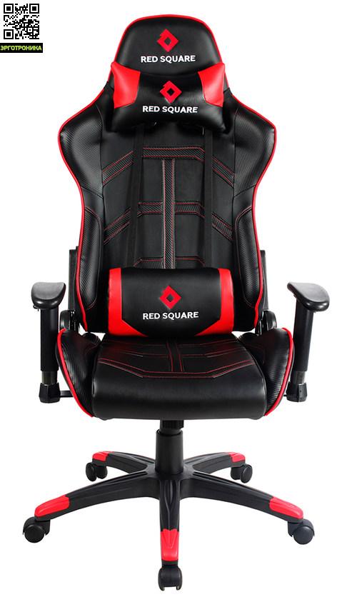 Игровое кресло Red Square ProRed Square<br>Недорогое продуктивное решение для продолжительных игр за компьютером.<br>