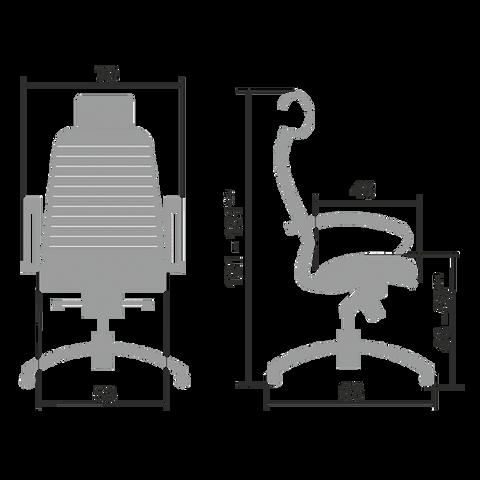 Эргономичное кресло Samurai KL-2