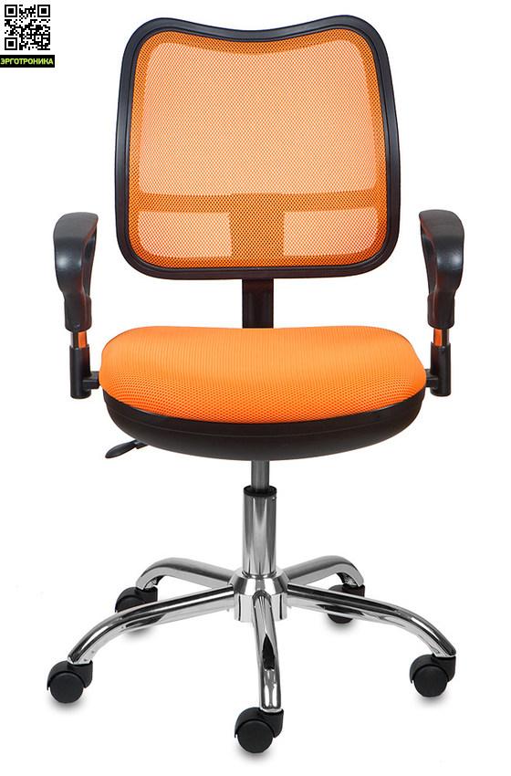 Кресло Операторское Бюрократ CH-799SLКресла персонала<br>3 расцветки<br>Эргономичная спинка с Регулировкой жесткости<br>Хромированное основание<br>