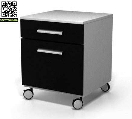 Тумба для офиса и дома BoxОфисная мебель<br>Стильная офисная тумбочка<br>2 зоны хранения вещей<br>3 варианта модификации<br>