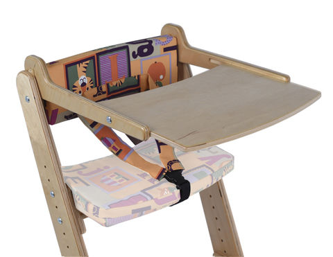 Столик для стула Конек Горбунек Береза кубик