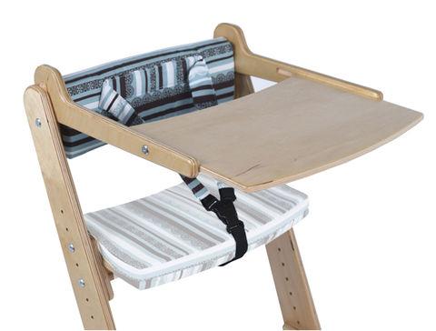 Столик для стула Конек Горбунек Береза полосатик