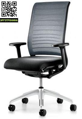Офисное кресло для руководителей HeroЭргономичные кресла<br>Благодаря механизму Autofit Нero автоматически подстраивается под вес сидящего<br>