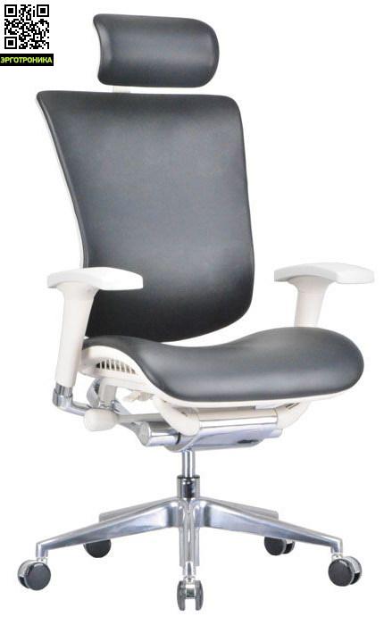 Кожаное кресло для работы Expert Star LeatherЭргономичные кресла<br>Обивка из натуральной кожи<br>широкий диапазон регулировок<br>инновационный синхронный механизм «SUPER-AKTIV»<br>