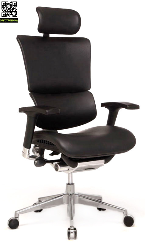 Кресло для работы за компьютером EXPERT SAIL LeatherЭргономичные кресла<br>Механизм движения кресла SUPER-AKTIV<br>натуральная кожа класса «люкс»<br>спинка и сиденье правильной анатомической формы<br>