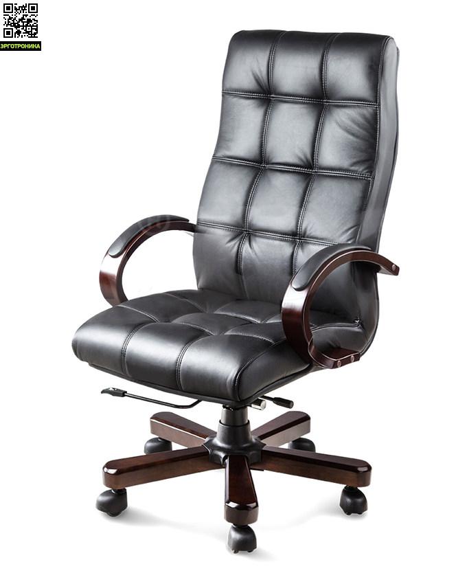 Кресло Руководителя MeridaЭргономичные кресла<br>Кресло приятно подчеркивает статус.<br>Материалы:Кожа/Экокожа/Дерево<br>