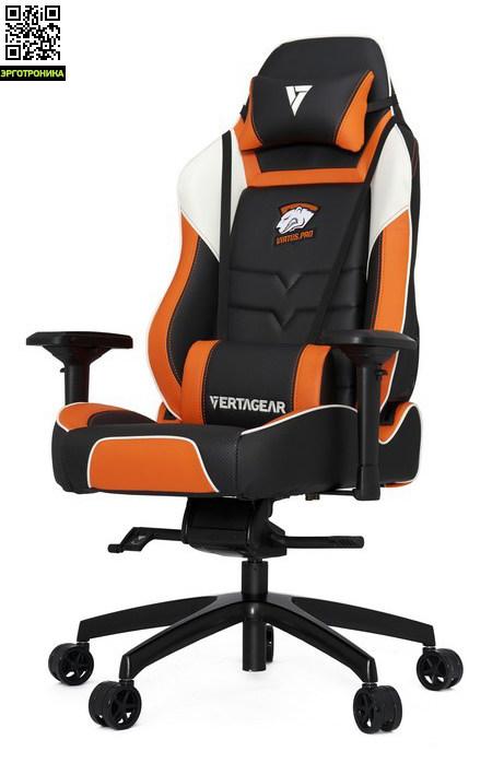 Геймерское кресло Virtus.Pro PL6000 от VertagearОфициальная бренд-секция Vertagear<br>Virtus PRO PL6000 – это кресло, сделанное специально для профессиональных геймеров, которые проводят кучу времени за играми.<br>