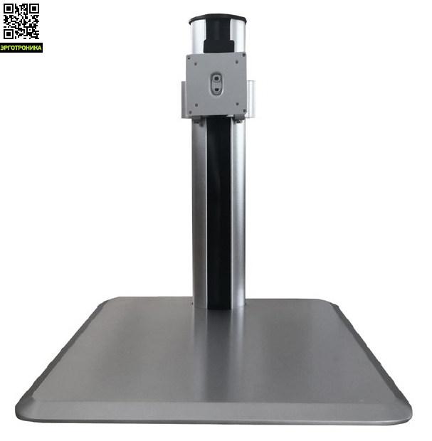 Кронштейн для LCD/LED мониторов ProSolution-K11Крепления<br>Легкий монтаж при помощи съемной пластины<br>Вращения экрана на ±90° возможность размещения монитора, как в вертикальном, так и в горизонтальном положении<br>Регулируемое по высоте крепление позволит установить монитор на нужной высоте<br>