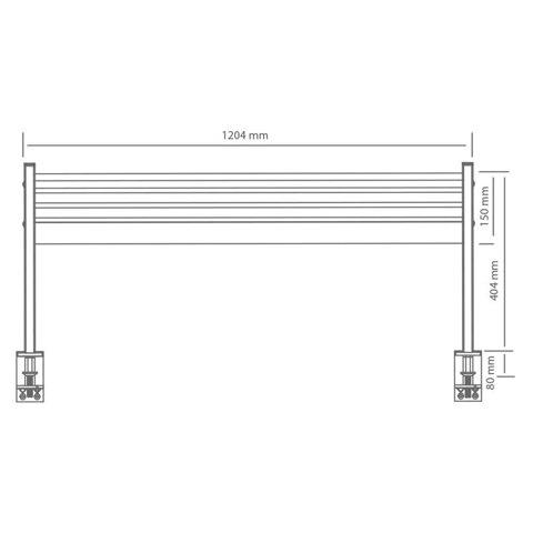 Настольная панель L-10 для кронштейнов ProSolution-D
