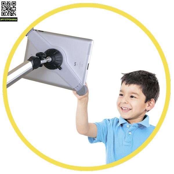Универсальный напольный держатель для планшетов SATELLITE-100