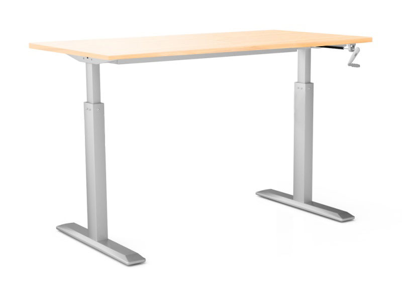 Стол для работы стоя и сидя Ergostol Fit с ручной регулировкой высоты