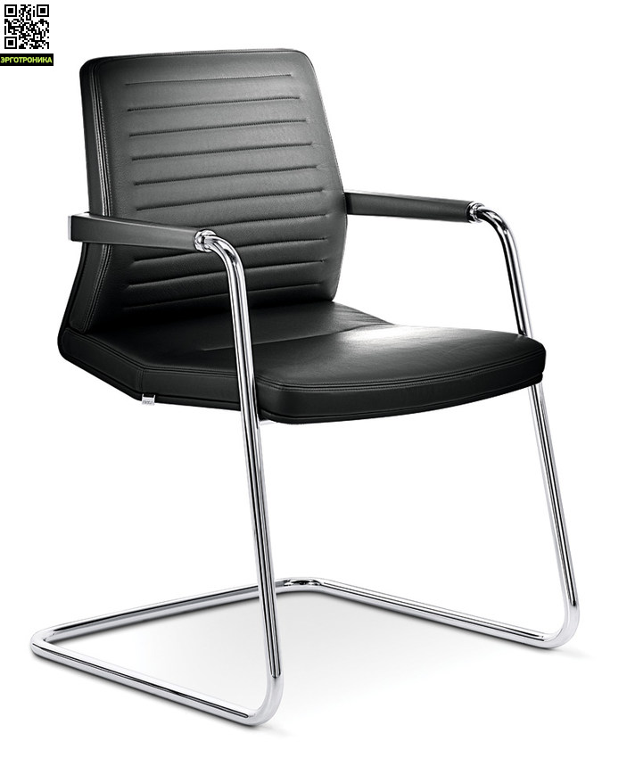 Стул для посетителей и переговорных зон VintageКресла для посетителей<br>Удобный посетительский стул с рельефной спинкой.<br>надежная конструкция<br>