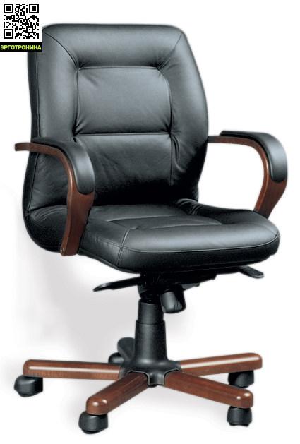Кресло руководителя Victoria Wood BКресла руководителя<br>Идеальное сочетание дерева и кожи и искусственной кожи<br>мягкое сиденье и спинка<br>
