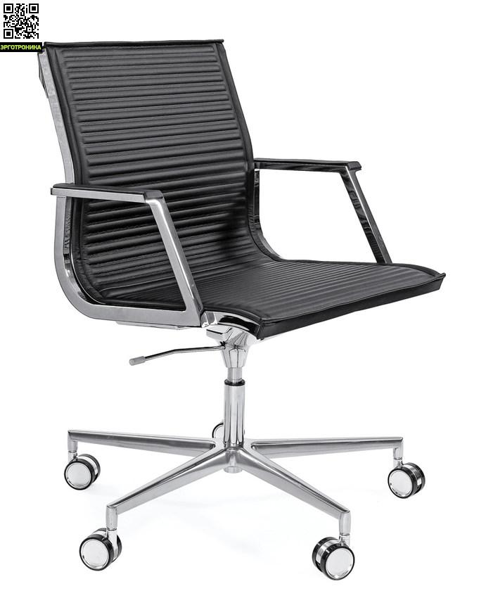 Кресло для офиса и персонала Nulite BКресла персонала<br>Кресло для персонала<br>укороченная спинка<br>кожа<br>