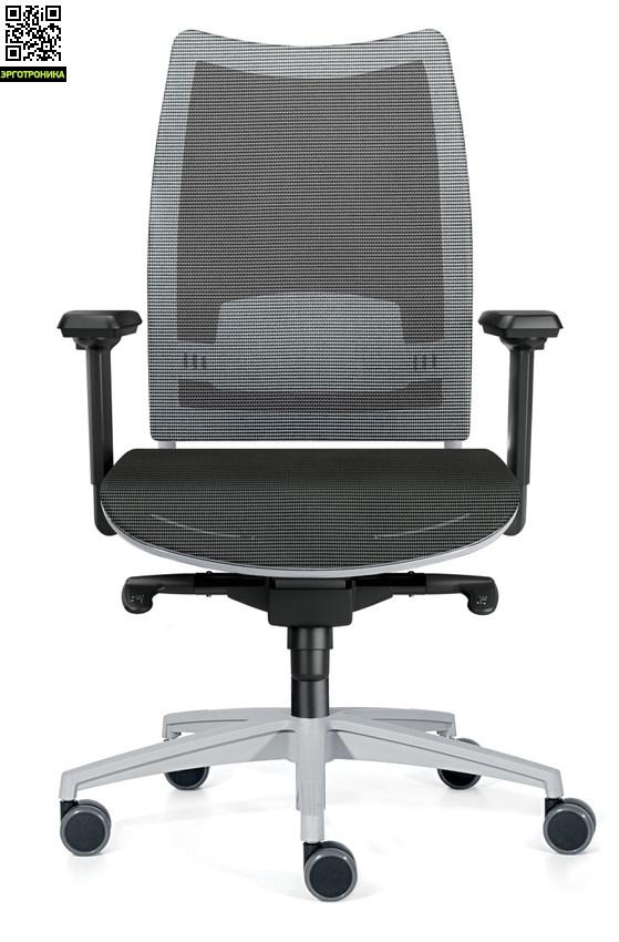 Офисное кресло для сотрудников OvertimeКресла персонала<br>Удобное кресло для сотрудников<br>множество регулировок<br>поддержка головы и поясницы<br>сетчатое покрытие<br>