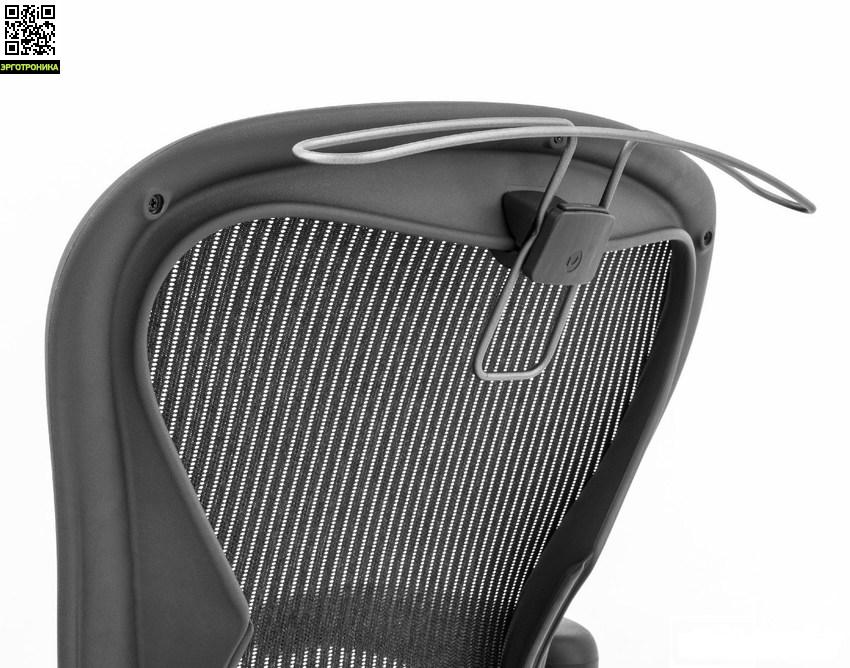 Вешалка HANGER-AERON для кресла AeronАксессуары и комплектующие к креслам<br>Удобная вешалка для одежды (пиджак/куртка)<br><br>Только для кресла Aeron Herman Miller.<br>