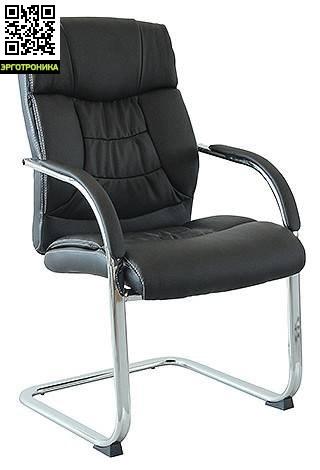 Кресло для посетителей George MLКресла для посетителей<br>От того в какой обстановке проходят переговоры в немалой степени зависит и успех самих переговоров.<br>Поэтому рекомендуем обратить внимание на кресло для посетителей Georg ML.<br>