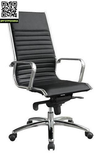 Кресло руководителя RogerКресла руководителя<br>Яркий современный дизайн кресла руководителя Roger сразу же обращает на себя внимание. Блеск металлических деталей в сочетании с простыми геометрическими формами навивают мысли о футуристических офисах их далекого будущего. Но кресло Roger вы можете купить уже сейчас.<br>