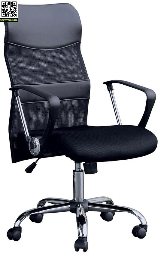 Кресло руководителя ErickКресла руководителя<br>Яркий спортивный силуэт кресла Erick не оставит равнодушными тех, кто любит современный дизайн. <br>Благодаря сетчатой спинке оно кажется легким и динамичным. А стоит сесть в кресло и доминирующим ощущением станет комфорт.<br>При этом сетка создает идеальные условия для вентиляции: никакого «парникового эффекта» даже при выключенном кондиционере.<br>