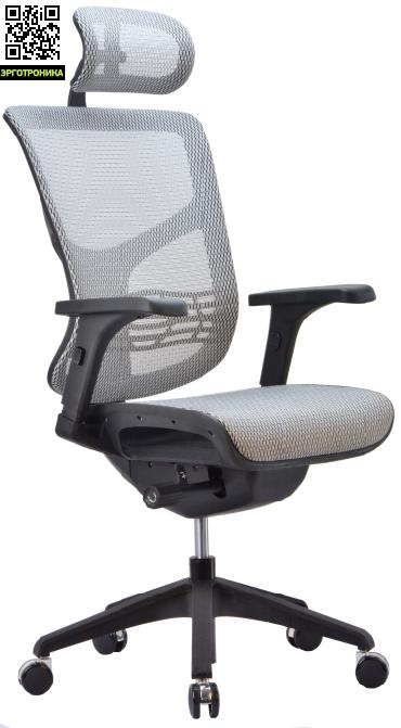 Эргономичное сетчатое кресло Expert VISTAЭргономичные кресла<br>Эргономичная спинка<br>Эргономичный подголовник<br>Сиденье-слайдер<br>Синхромеханизм Эрго -Синхро<br>