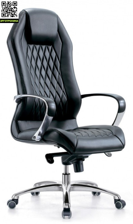 Кресло руководителя AuraЭргономичные кресла<br>Стабильные подлокотники;<br>Механизм со смещенной осью качания с регулировкой под вес и фиксацией в нескольких положениях;<br>Ограничение по весу: 120 кг<br>