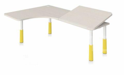 Угловой растущий стол-парта Stalker L