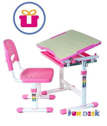 Детская парта растишка и стульчик FunDesk PICCOLINO II