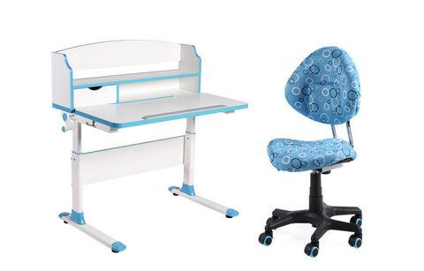Комплект парта-трансформер Fundesk Sentire и ортопедическое кресло SST5