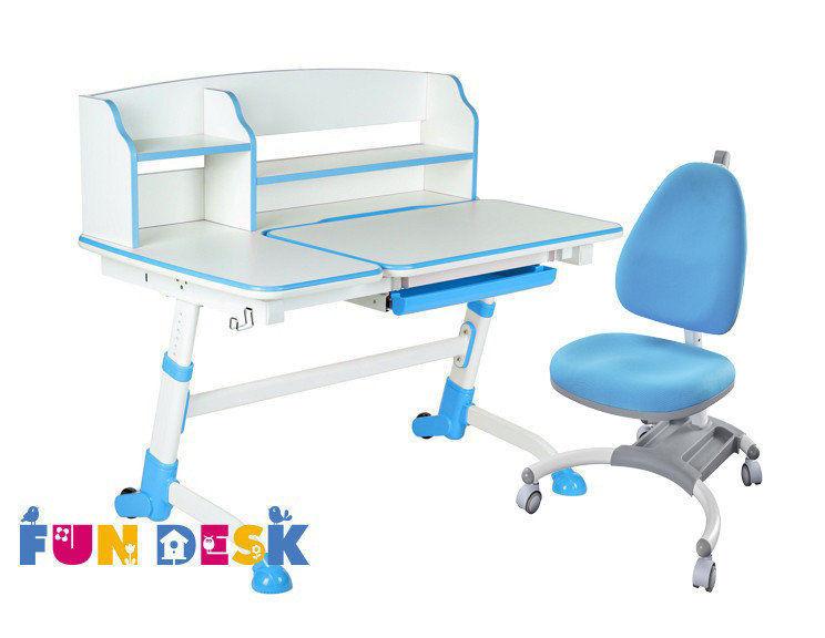 Комплект парта-трансформер FunDesk AMARE II и детское кресло FunDesk SST4