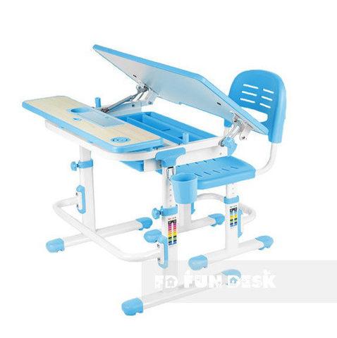 Детский стол-трансформер со стулом FunDesk Lavoro