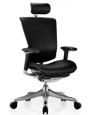 Кожаное компьютерное кресло Nefil Luxury