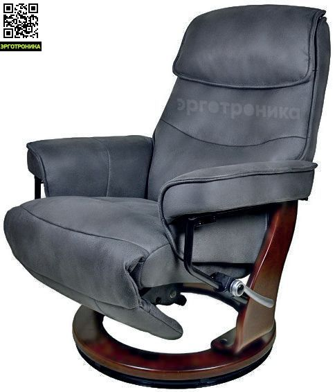Кресло-реклайнер Relax Rio (Темно-серый) купить  за 40000 рублей. Отзывы, фото доставка по Москве и России в Эрготронике