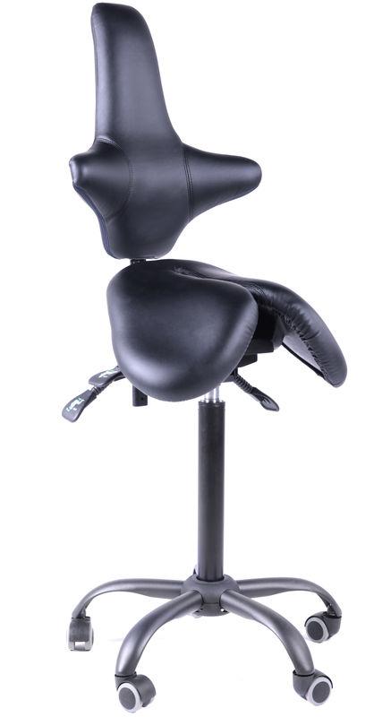 Двойное кресло-седло со спинкой EZDuo Back