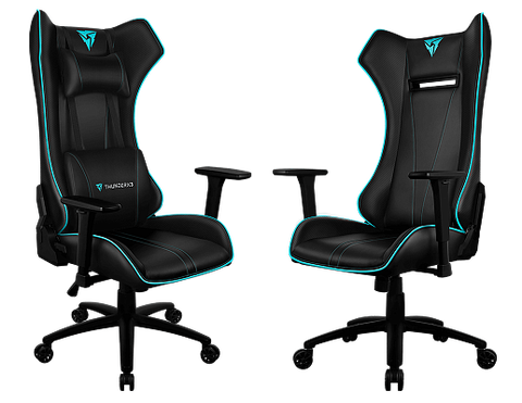 Профессиональное геймерское кресло ThunderX3 UC5 с LED подсветкой