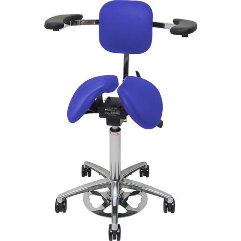 Стул-седло MultiAdjuster с опорой Surgeon (ножная регулировка)